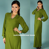NMA26 Waist Layered Dress