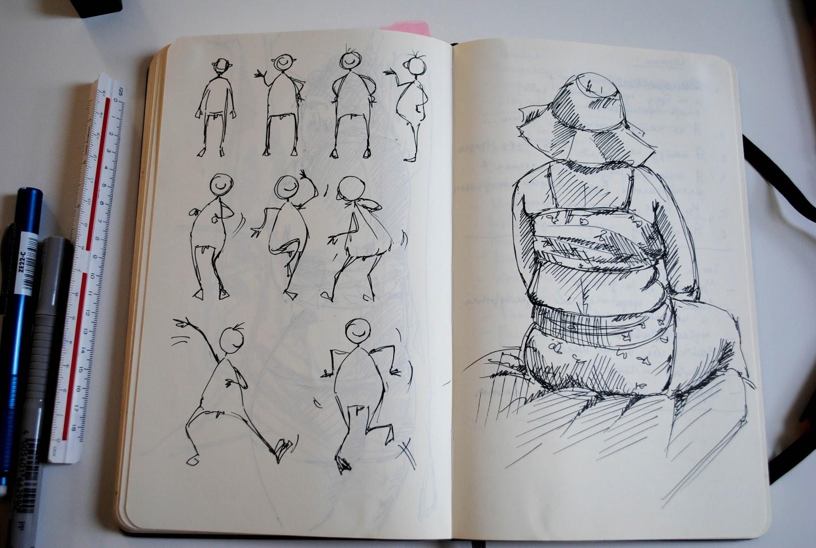 Картинки нарисованные в скетчбук