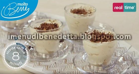 Tazzine di Caffè e Mascarpone di Benedetta Parodi