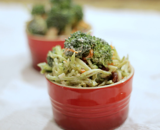 Brunch N' Cupcakes: {Broccoli Salad with Lemon Honey ...