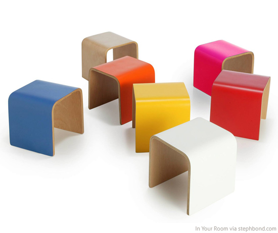 Bondville In Your Room Modern Stools For Kids
