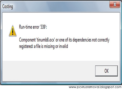 Remove Runtime Error 339