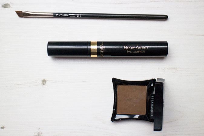 current brow routine