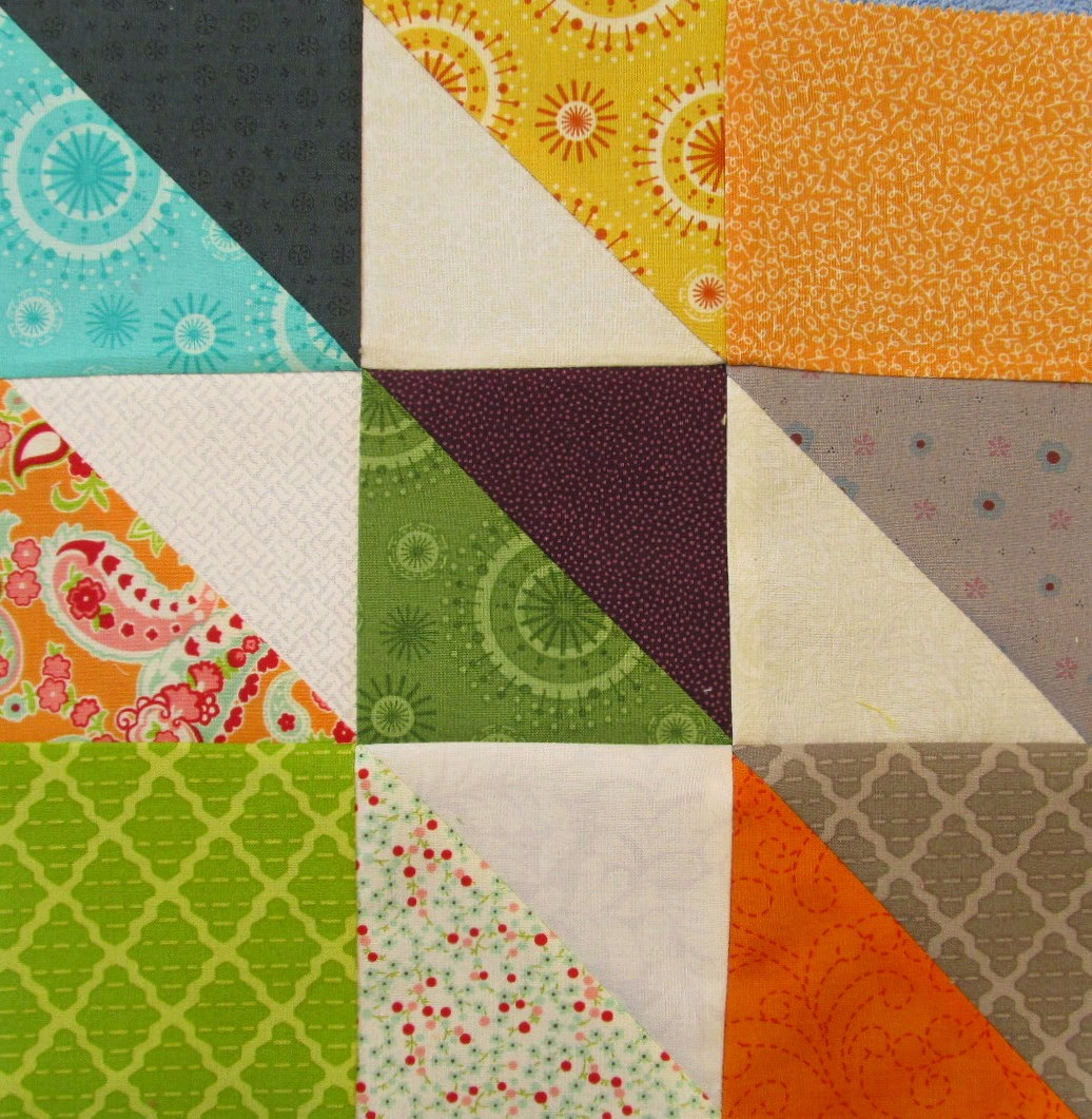 how to piece a quilt block tutorial