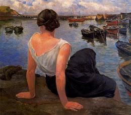 La hija del puerto. Ignacio Olano.
