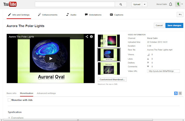 Google Adsense Account From YouTube Tutorial By EXEIdeas