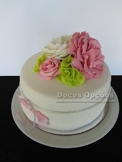 flores cake design bragança