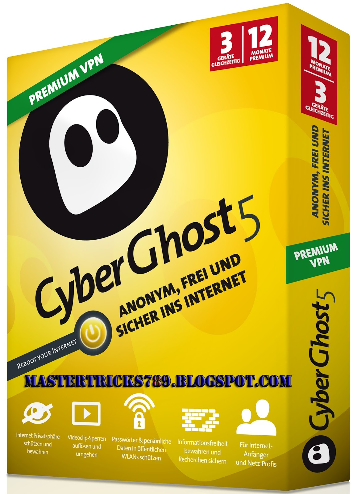 cyberghost 5 free trial download