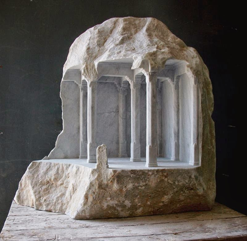 Carving Into Marble and Stone | Matthew Simmonds