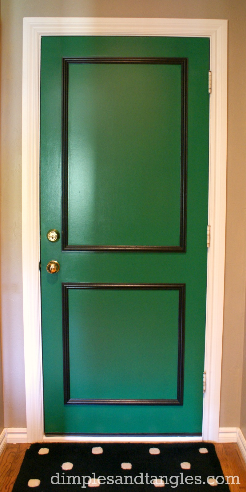 A little back door fun my paint color dimples and for Paint for doors interior