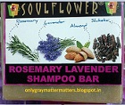 Soulflower Rosemary Lavender Shampoo Bar Review