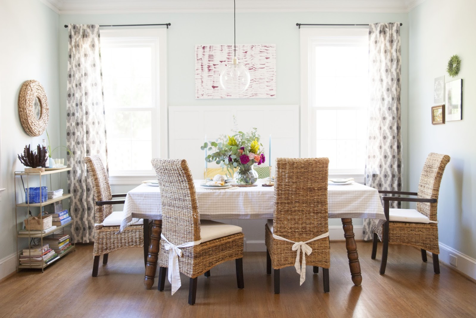 The Dining Room Fall Home Tour Decor Non Traditional Seasonal