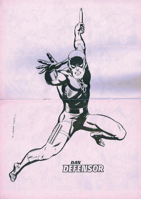 Poster de Dan Defensor por López Espí