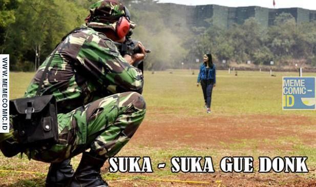 Meme Terserah Gue Donk