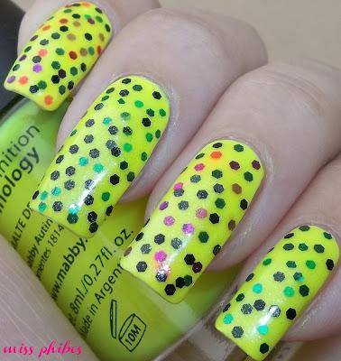Esmalte Mabby Yellow Neon