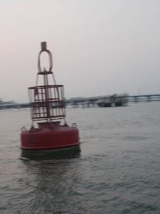 Floating  Buoy in Kochi Harbour.