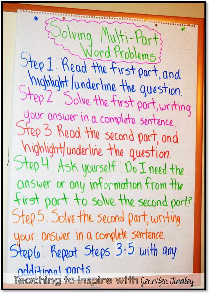How to solve a word problem