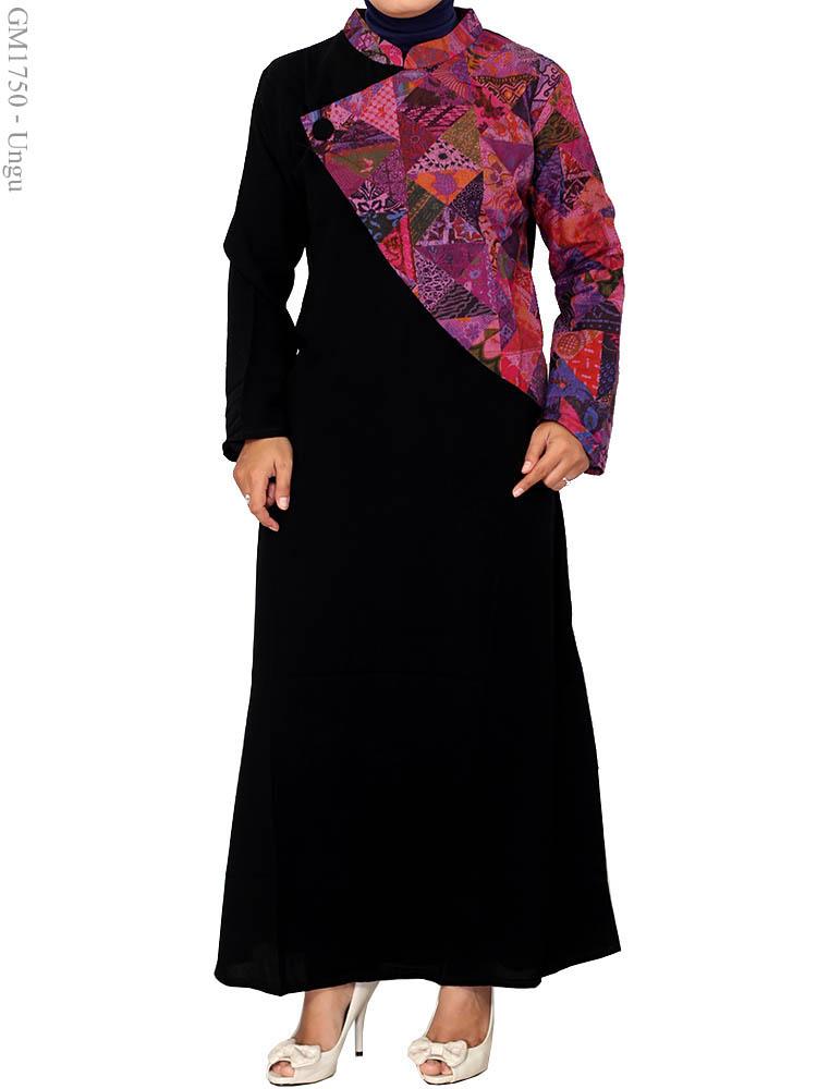 Gamis Arab Muslimah Gm1750 Busana Muslim Murah Terbaru