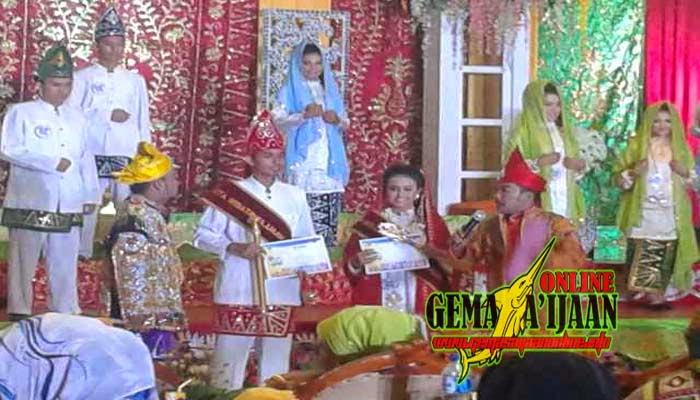 Rahman dan Hana Jadi Duta Wisata Saijaan 2014