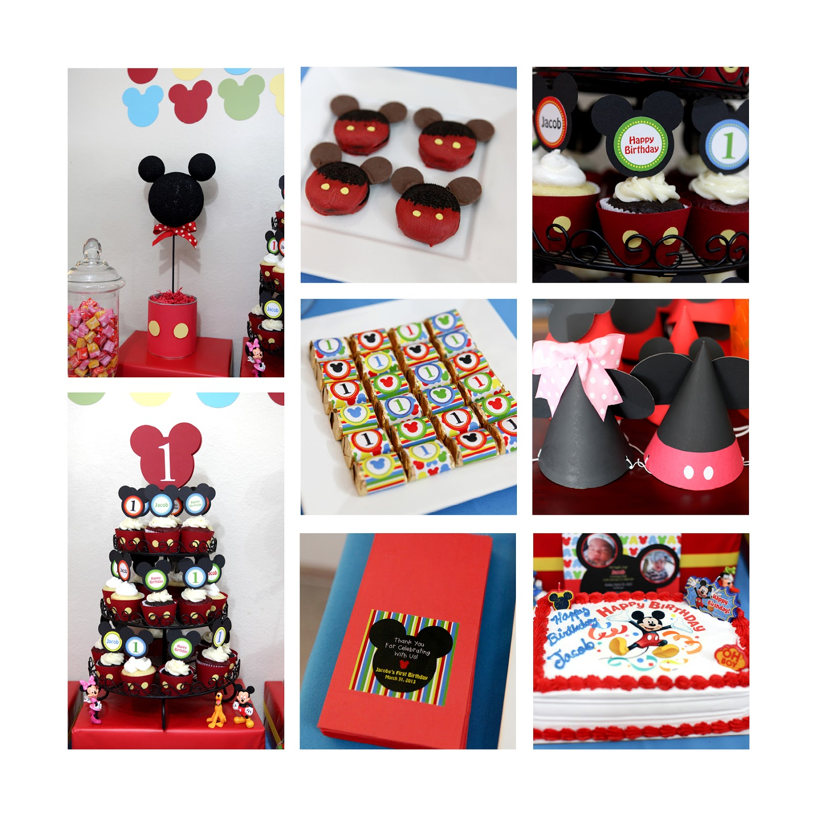 Here are the Mickey Invitations we created. To order these you can go ...