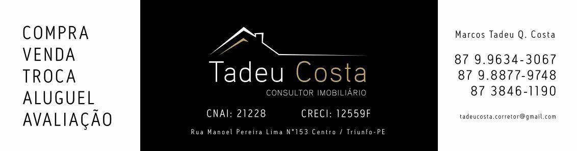 Consultor Imobiliário Tadeu Costa