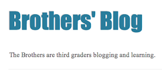 Brothers Blog logo