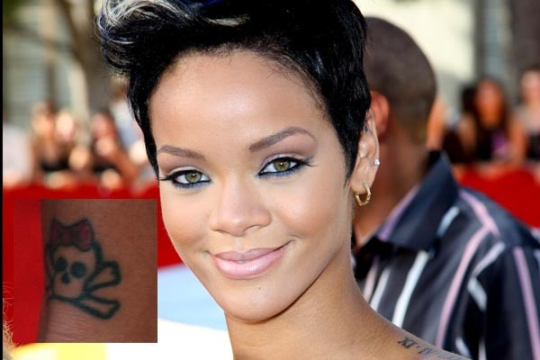 rihanna tattoos. Rihanna Tattoos