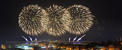 di fuochi d'artificio