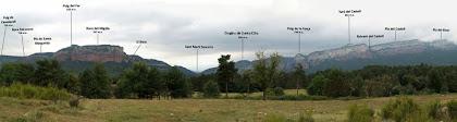 Panoràmica des del Bosc de El Biaix