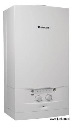 Modelo de caldera hogareña para calefacción