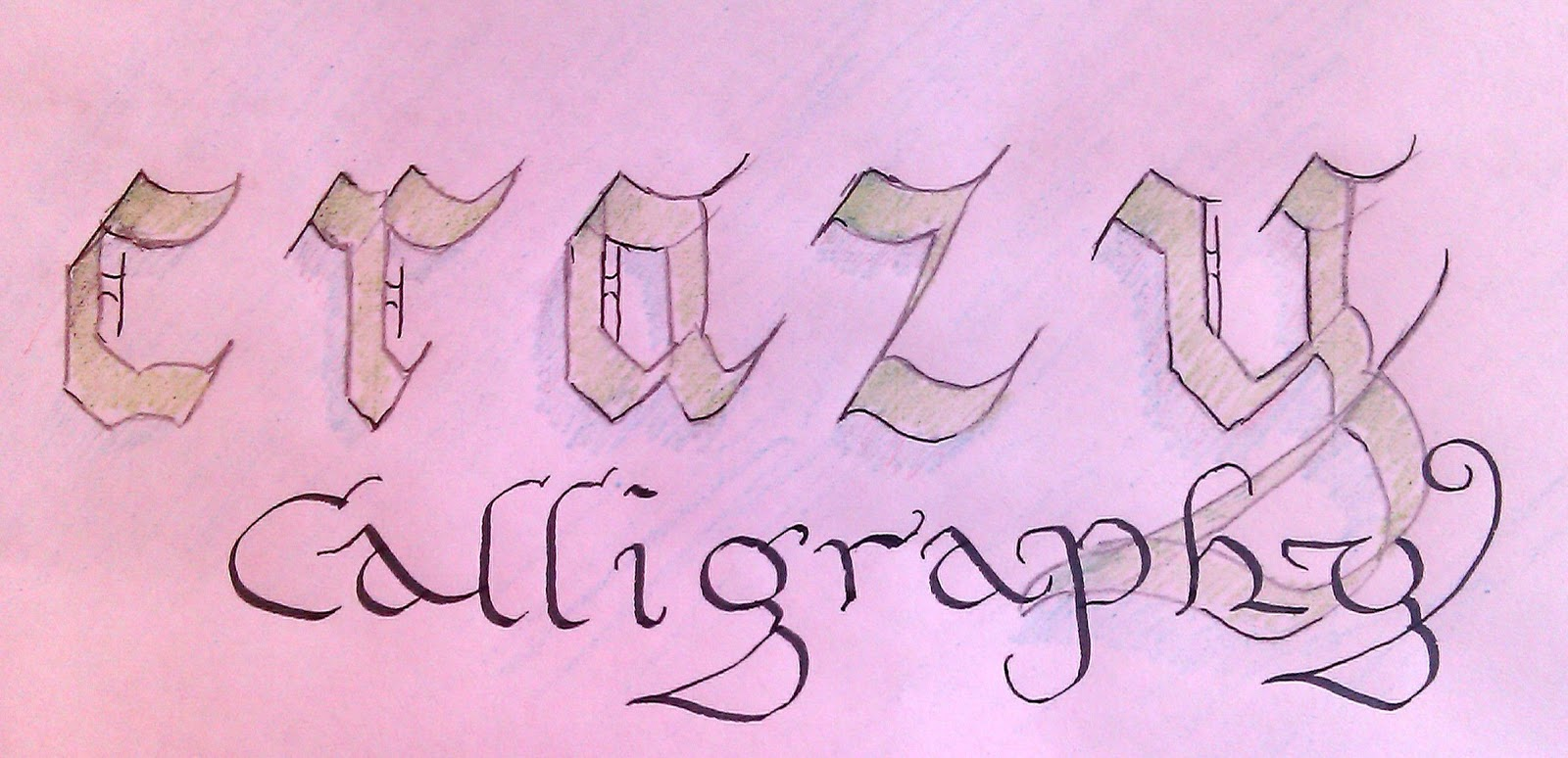 Calligraphy For Beginners Pen And Ink