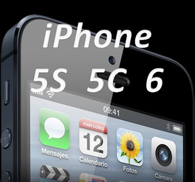 Nuevo iPhone 5S, 5C, 6