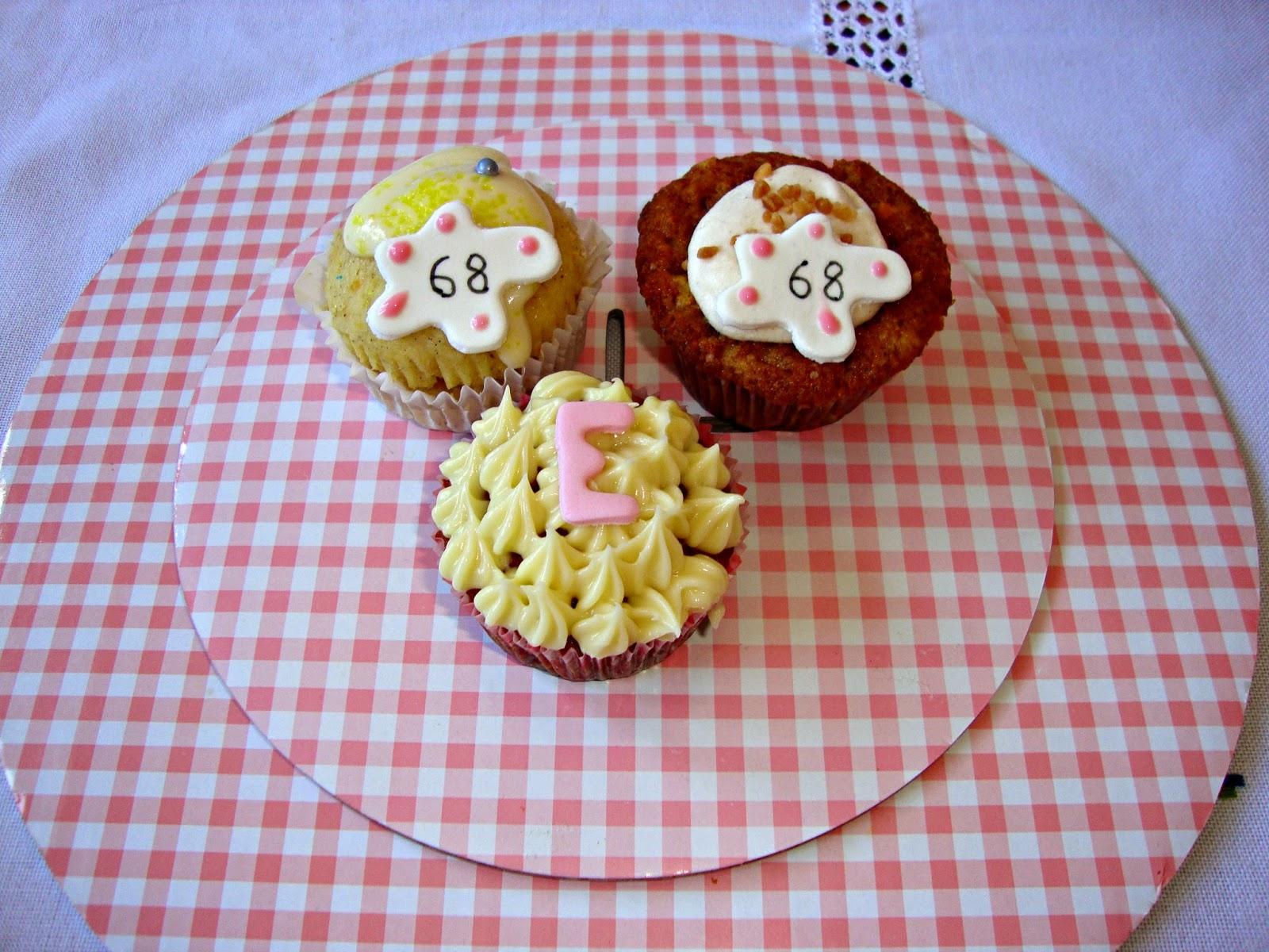 Cupcakes cumpleaños Esther