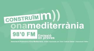 el proyecto de emisora de radio mallorquina Ona Mediterrània