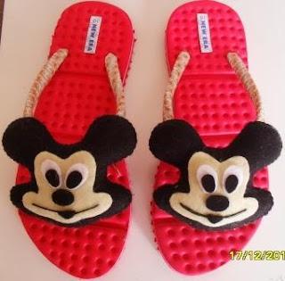 Sandal Boneka Mickey