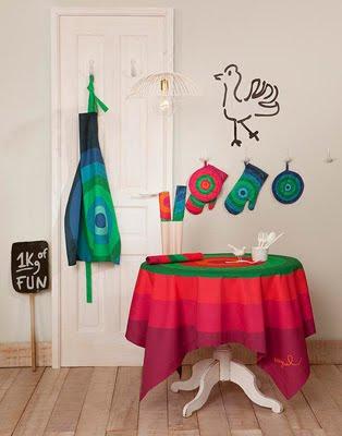ropa de cocina y ropa de mesa online