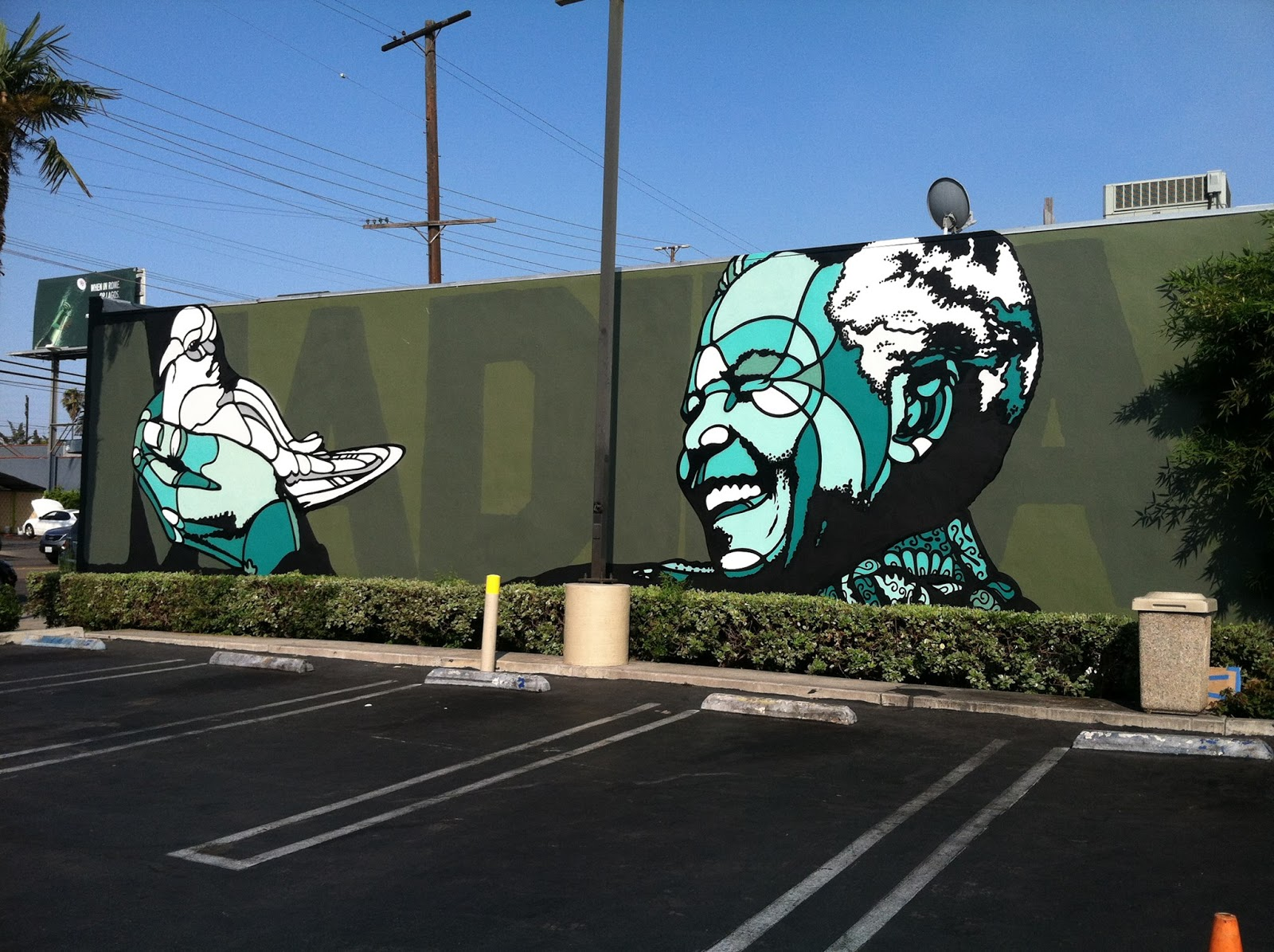 David Flores New Mural In Los Angeles Usa Streetartnews