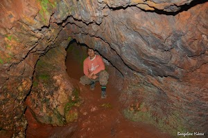 The cave on the peak of Mullayanagiri