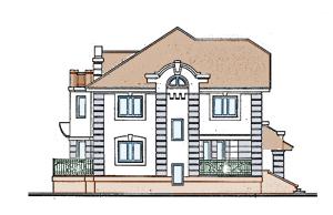 Проект дома из пенобетона.