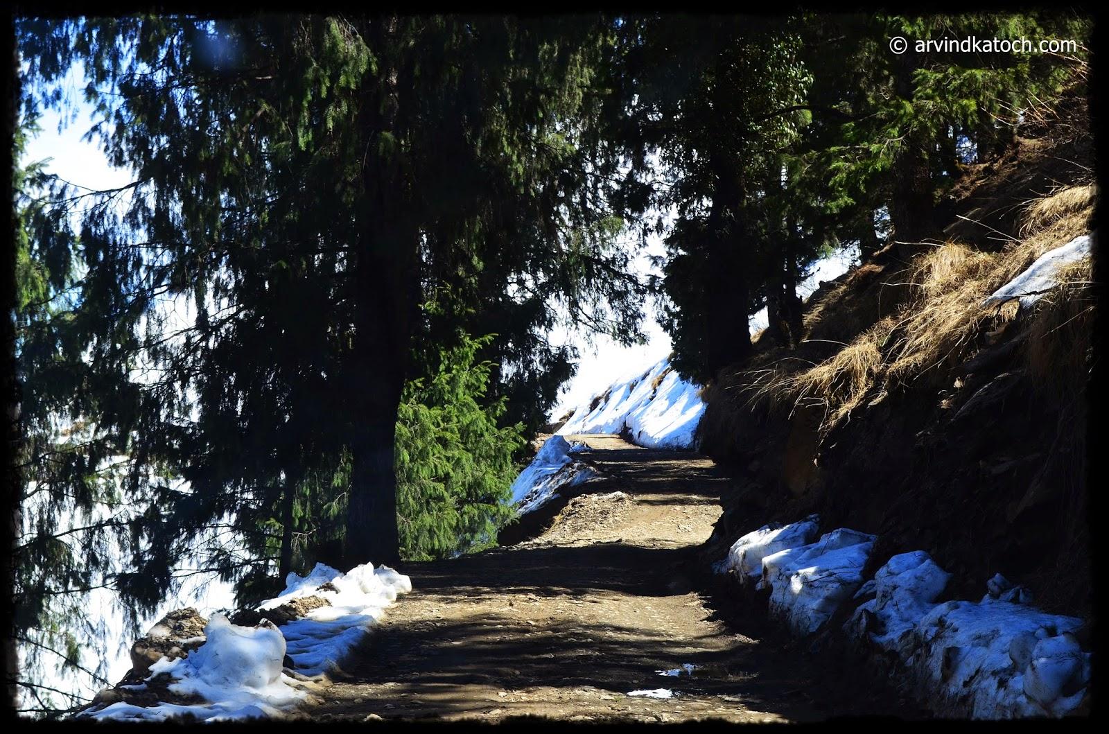 High Altitude Road, Himachal, Prasher Lake,
