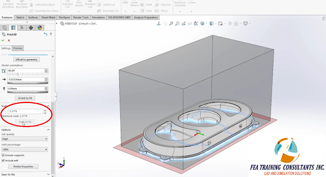 solidworks 2016 and 3D printing