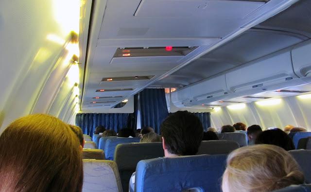 в салоне Боинг-737