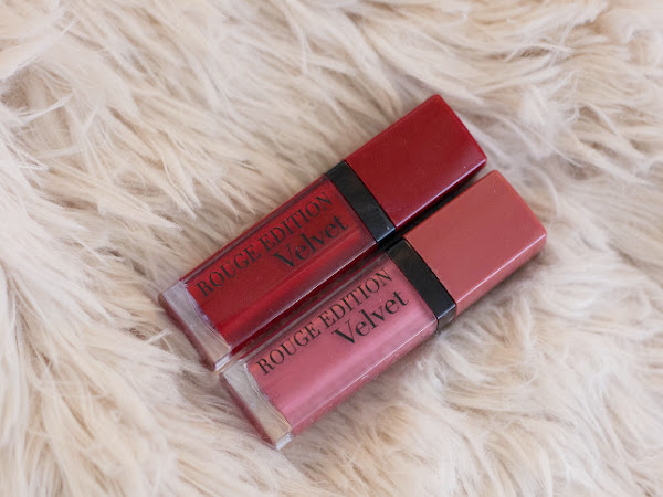 Beauty: Bourjois Rouge Edition Velvet Grand Cru and Nude-ist
