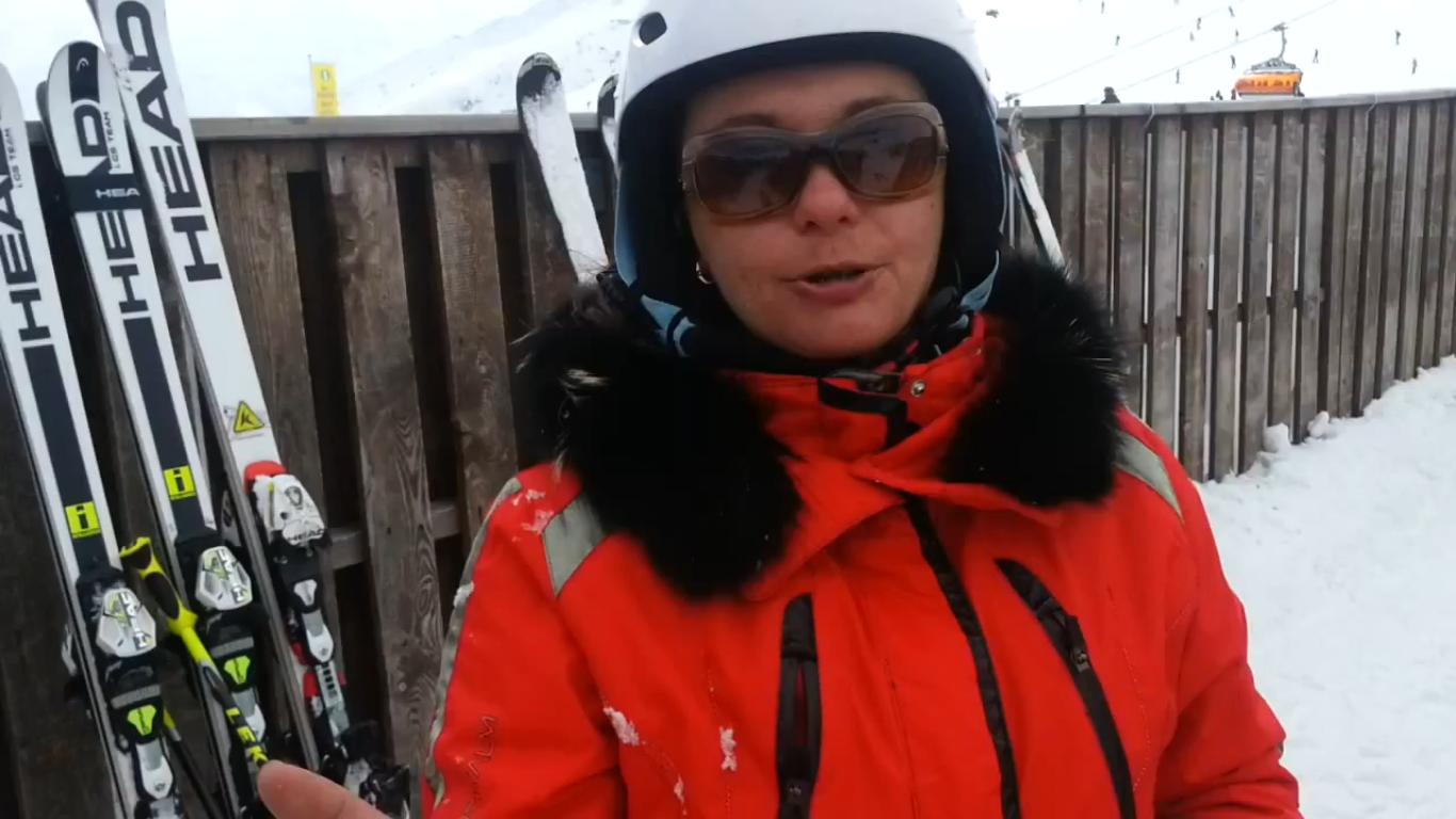 Горнолыжный инструктор русский Обургургль