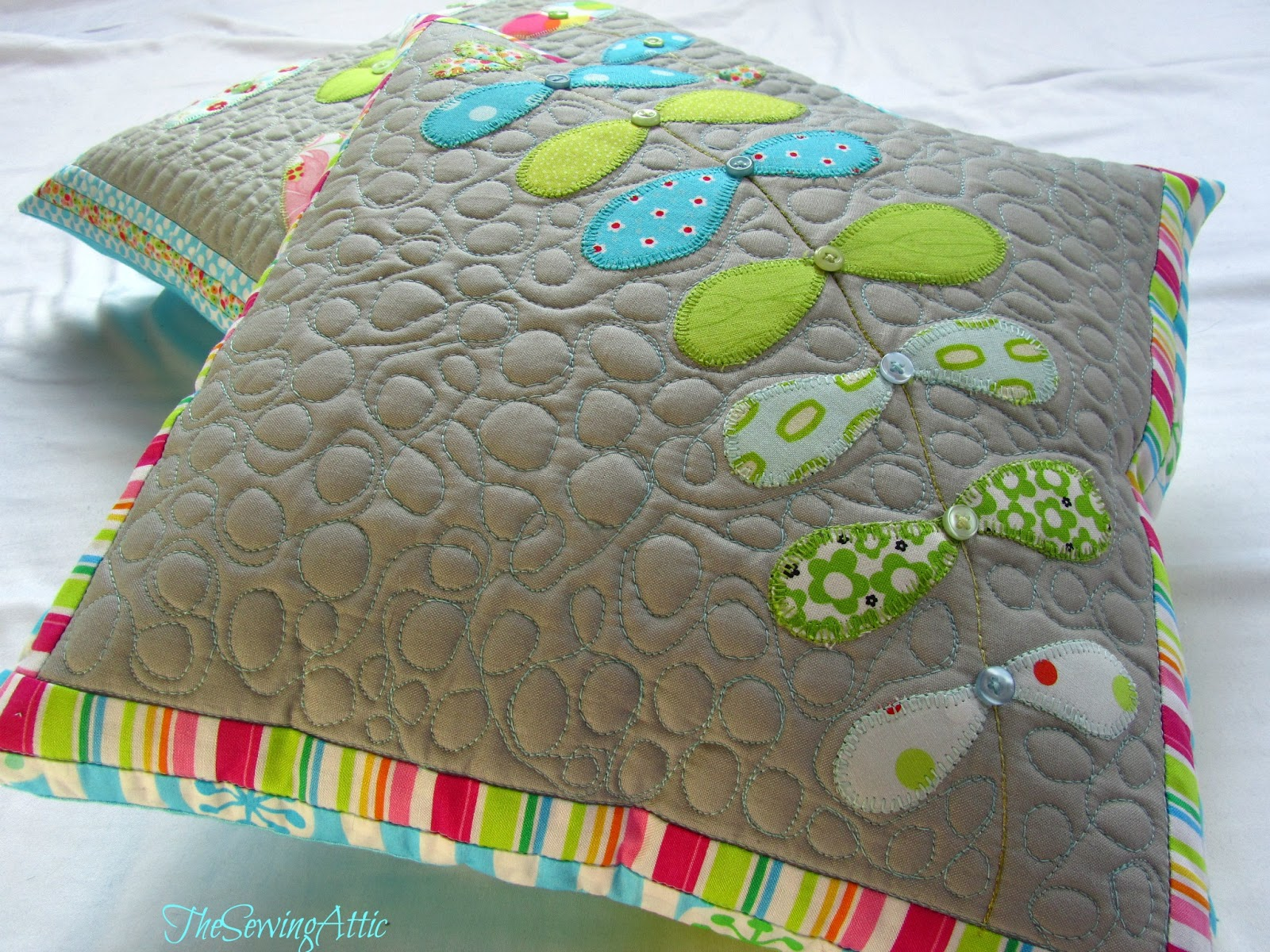 the sewing attic new cushion designs