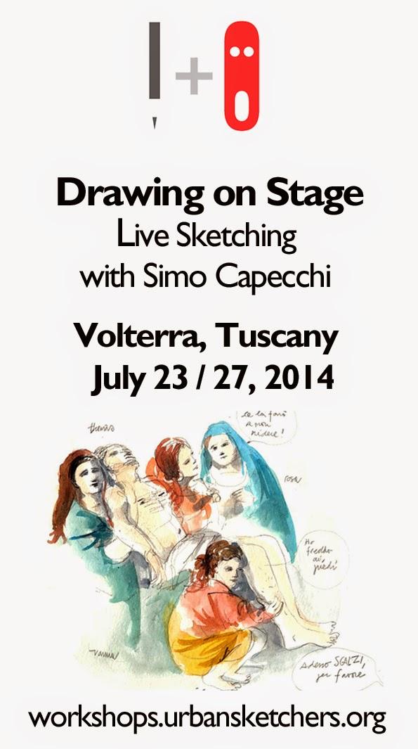 Workshop with Simo Capecchi