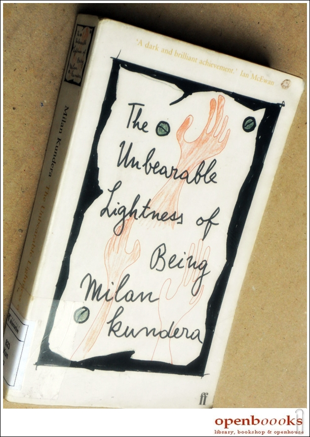 """the unbearable lightness of being essay Introduction milan kundera has written the book """"the unbearable lightness of  being"""" he used life form to explain the human being difference existential style."""