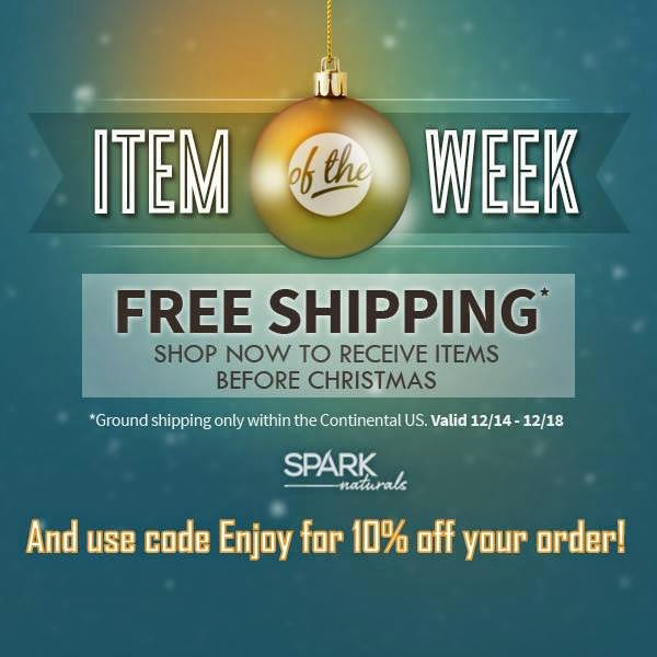 Free Shipping from Spark Naturals