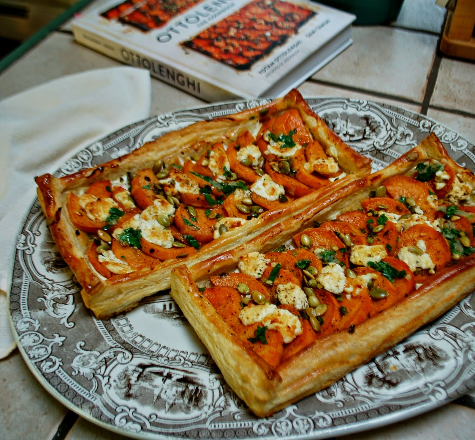 The Spice Garden: Ottolenghi\'s Sweet Potato Galettes