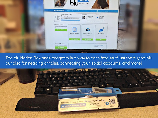 blu Nation Rewards program #bluPLUS #ad